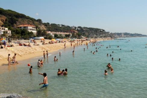 playa caldes d´estrac